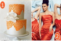 Tangerine Tango wedding / by Elizabeth