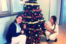 Natale in ospedale / Decorazioni natalizie negli ospedali d'Italia
