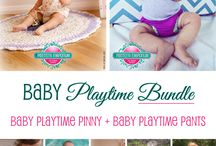 Baby Playtime Pants - Nappy Cover