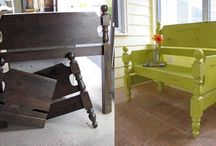 Upcycling! / Ideas that you can do to recycle and reinvent! Projects that we can do for you!