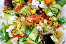Salad Recipes / recipes for salads, and other lunch-type foods.