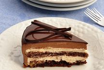 chocolate covered cakes