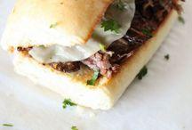 Sandwich Recipes / Burgers, Sandwiches, Poboys, Hoagies, Subs, etc.