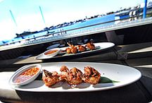 Fine Waterfront Dining / Enjoy a breathtaking view of Alamitos Bay that is second to none, especially from our beautiful outdoor patio and fire pit.