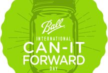 "2015 International Can-It-Forward Day / Join us on Saturday August 1st from 11:00am – 4:00pm EST for International Can-It-Forward Day! Now in its 5th year, Can-It-Forward Day will broadcast live from the new state-of-the-art Jarden Home Brands headquarters in Fishers, Indiana, celebrating the joys of fresh preserving.  To showcase the simplicity of home canning and spotlight ""Made From Here"" recipes, four blogger ambassadors from across the country will share their preserving expertise during the live webcast. / by Ball® Canning"