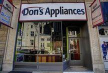 Don's Appliances- Baum Blvd. Shady Side / 5958 Baum Blvd. Pittsburgh, PA 15206 412-661-7550