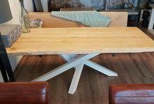 Tables Pays Bois métal