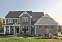 Belmonte Builders Homes - Featuring MiraTEC Trim / To see more Belmonte Builders homes, visit their website: http://www.belmontebuilders.com/gallery/exteriors/  For more information on MiraTEC trim, visithttp://www.miratectrim.com/
