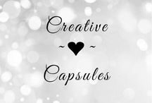 Creative Capsules / Welcome Friends! Pick a Story or a Color Theme and pin 10 to 15 pins and set the Creative Capsules  Pin. Thanks . Invite your friends.