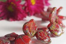 Like these beads / Czech beads i like :)  #czechbeads #glassbeads #beads #beadseller #picasso #picassobeads #firepolishedbeads