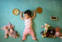 Criança dormindo inspiração