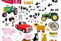 Állatok a farmon