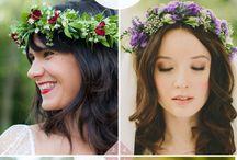 Hair wreaths