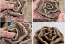 material flowers