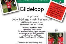 Gildeloop 2013 Soest / De organisatie van de Gildeloop was zoals gebruikelijk in handen van AV Pijnenburg. Ouderman Kees Wantenaar zorgde voor het startschot bij de loop die door een groot deel van de historische Kerkebuurt liep. De wedstrijdloop had een lengte van 10 kilometer. Bijzonder was dit jaar dat er een grote groep van 80 renners uitkwam voor de Regenboogboom en daarmee een sponsorbijdrage leverde.