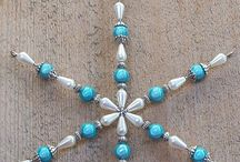 Jewelry - bead snowflake