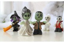 Gatofante Figurines / Cute handmade figurines