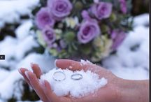 My winter wedding❄️ / Winter  Wedding Norway Bride bouquet Rings  Lavendel January Ideas