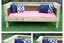 Outdoor Spaces / Get stylish outdoor spaces with these great patio ideas!  Increase your curb appeal on a budget, gather landscape ideas for your front yard and porch, DIY and more!