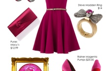 Magenta March* / Starting off the month of March in style with everything Magenta!!