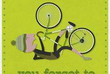 bike. / My Mountain Bike is my love...my road bike keeps me in shape. / by Audrey Clinton