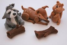 Animalitos fondant
