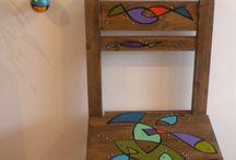 Más creaciones Mari Eibu / Pinturas, muebles, cerámica y más....