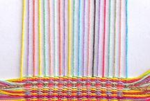 Kutominen ryijy weaving