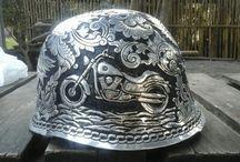 Engraving Helmet