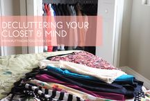 De-Cluttering / by The Curated Bride