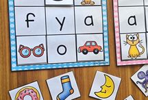 Literacy games activities for Pre-Reception