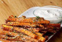 Garlic Oven Carrots Fries