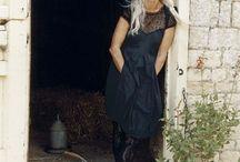 older stylist woman