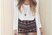 Outfits / Cute easy and casual summer outfits