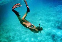 underwater world girl-men love