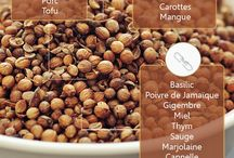 Cuisine : épices et herbes / spices and hebs