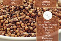 Cuisine : épices et herbes / spices and hebs