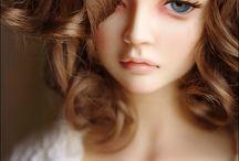 art photos jeunes filles  poupées