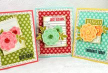 Handmade Cards / Break out the stash & let's start creating! I also have boards for Baby, Valentine's Day, Thanksgiving, & Christmas cards. You'll want to follow those too! / by Steph @ Silver Boxes