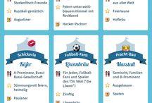 Infografiken auf Deutsch / Infografiken für Unterricht