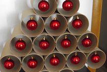 árbol bolas rojas