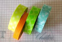 Washi Tape (inspiration for digital tape) / by Charlotte @ Twist+Snag