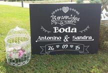 Antonino y Sandra: boda campestre