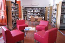 Instalaciones Biblioteca Ramón Carande de Tocina.