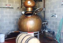 Real Ale Brewing Company / Real Ale Brewing has been quietly distilling whiskey out of a copper still specially made in Spain. Photo: Hoga copper pot still