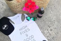 Salt + Pepper Instagram Who else is ready for long summer days?! Our tanks & hats are essentials! #highfives #goodvibes #dietcoke #palmtrees #hat #summertime #saltandpeppersupply