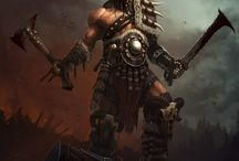 Warriors-Barbarians (Male)