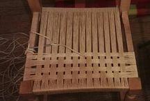 Sandalye yapımı