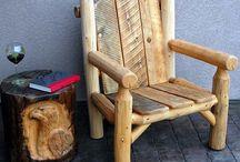 Log Cabins & Log Furniture