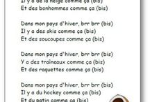 Comptines & chansons Maternelle